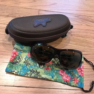 "Maui Jim ""Palms"" Polarized Sunglasses - Brown"